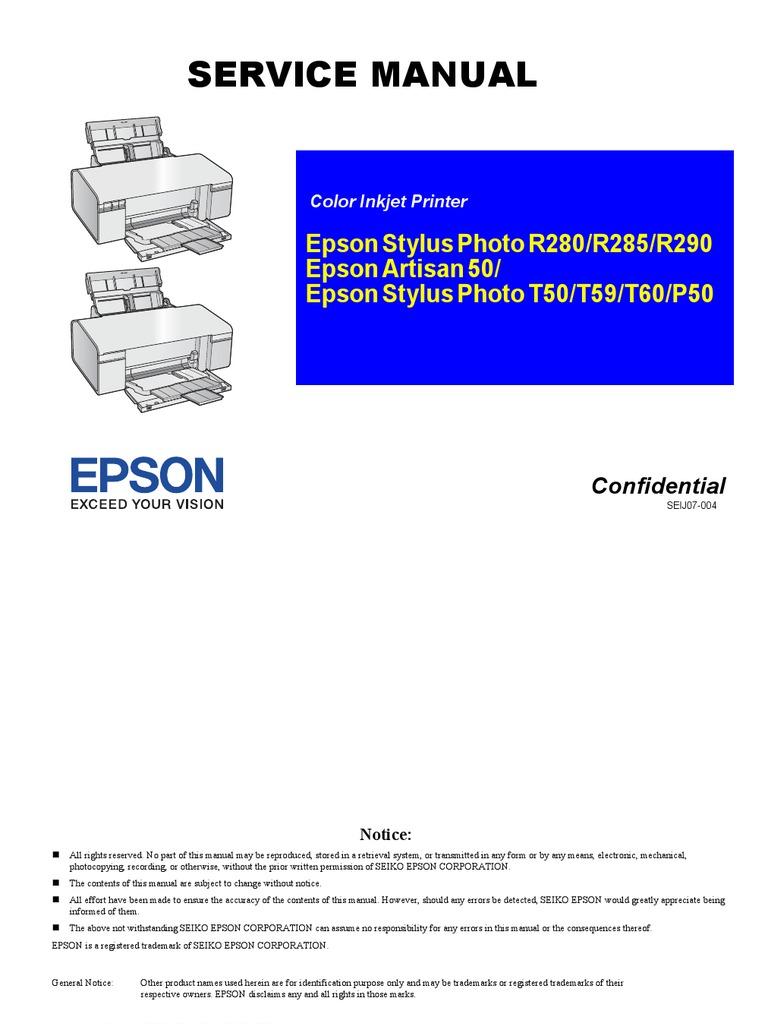 epson stylus c88 printer manual