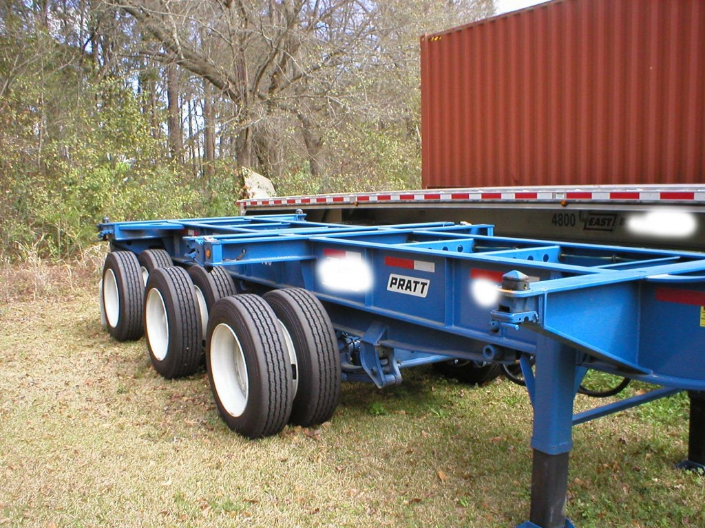 53 container chassis user manual