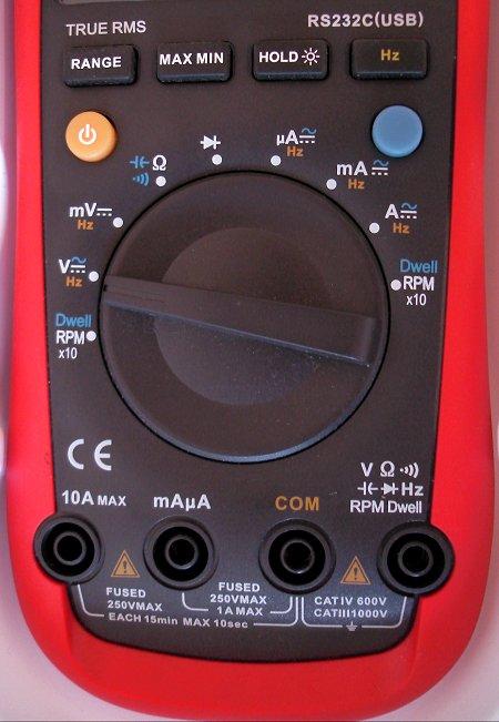 uni-t ut136b digital multimeter english manual