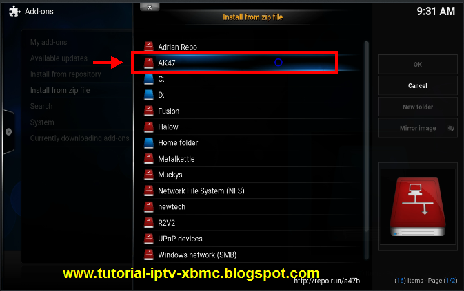 xbmc manually add tv show