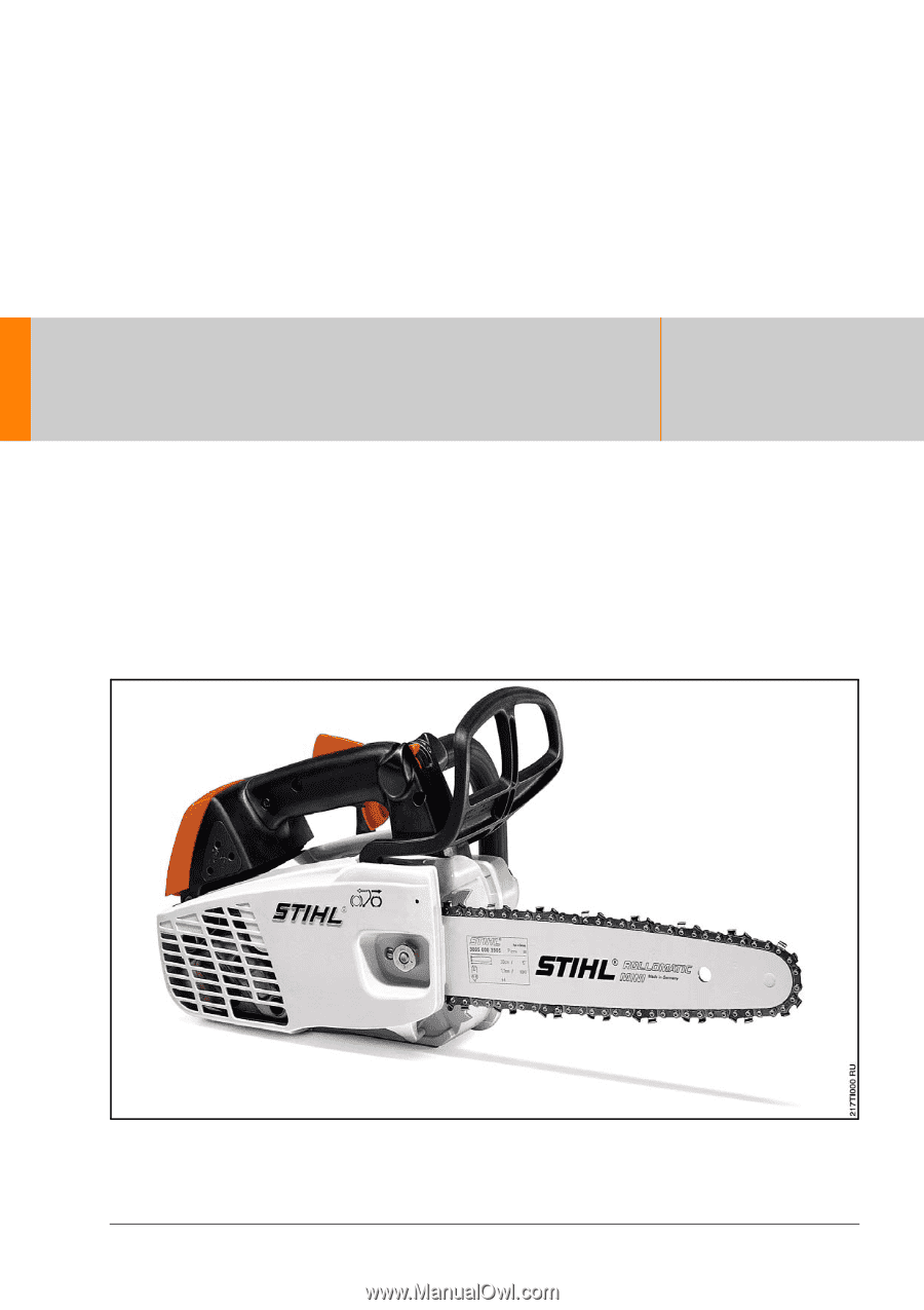 stihl fs 45 operator manual