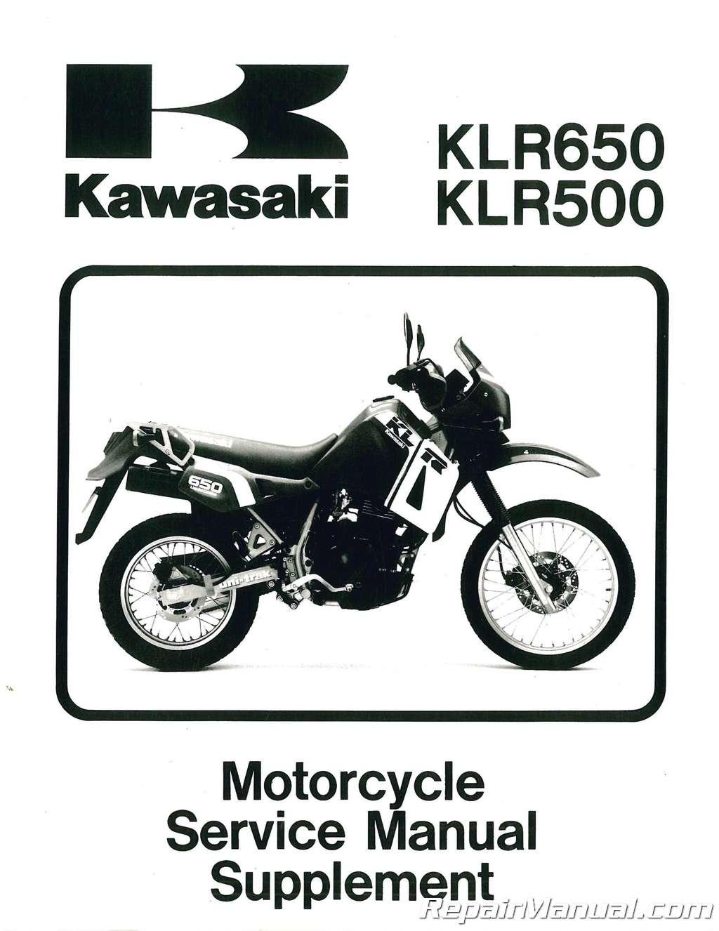 2004 klr 650 service manual