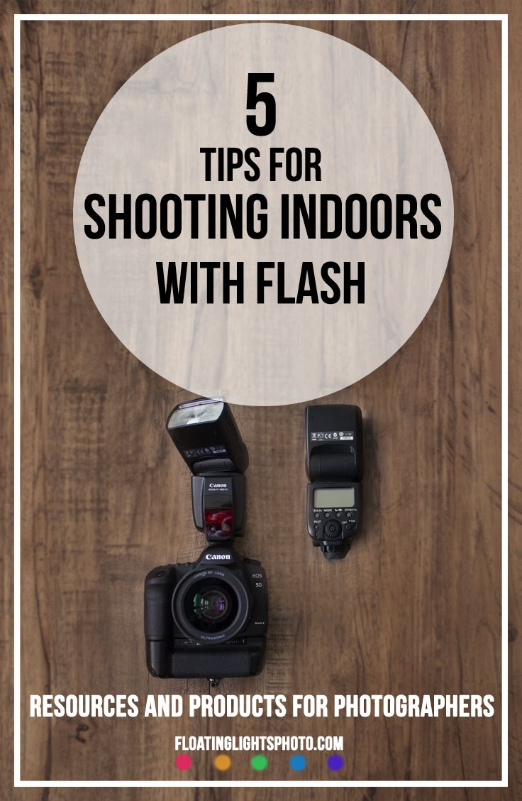 manual settings for indoor flash photography