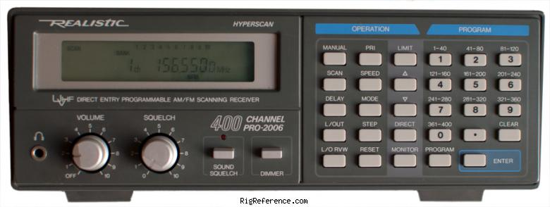 realistic pro 57 scanning receiver manual