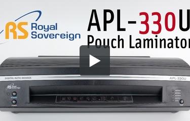 royal sovereign laminator apl 330u manual
