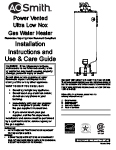 whirlpool gsw water heater manual