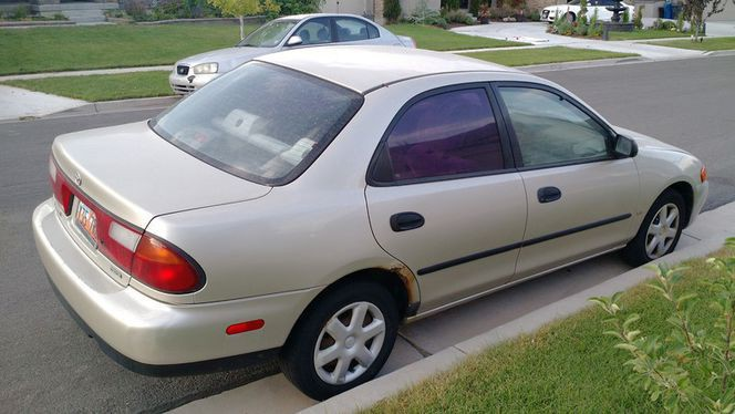2003 mazda protege es manual sedan