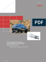 audi a6 allroad 2009 owners manual