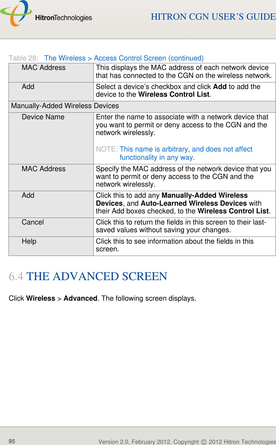 hitron cgn2-rog user manual