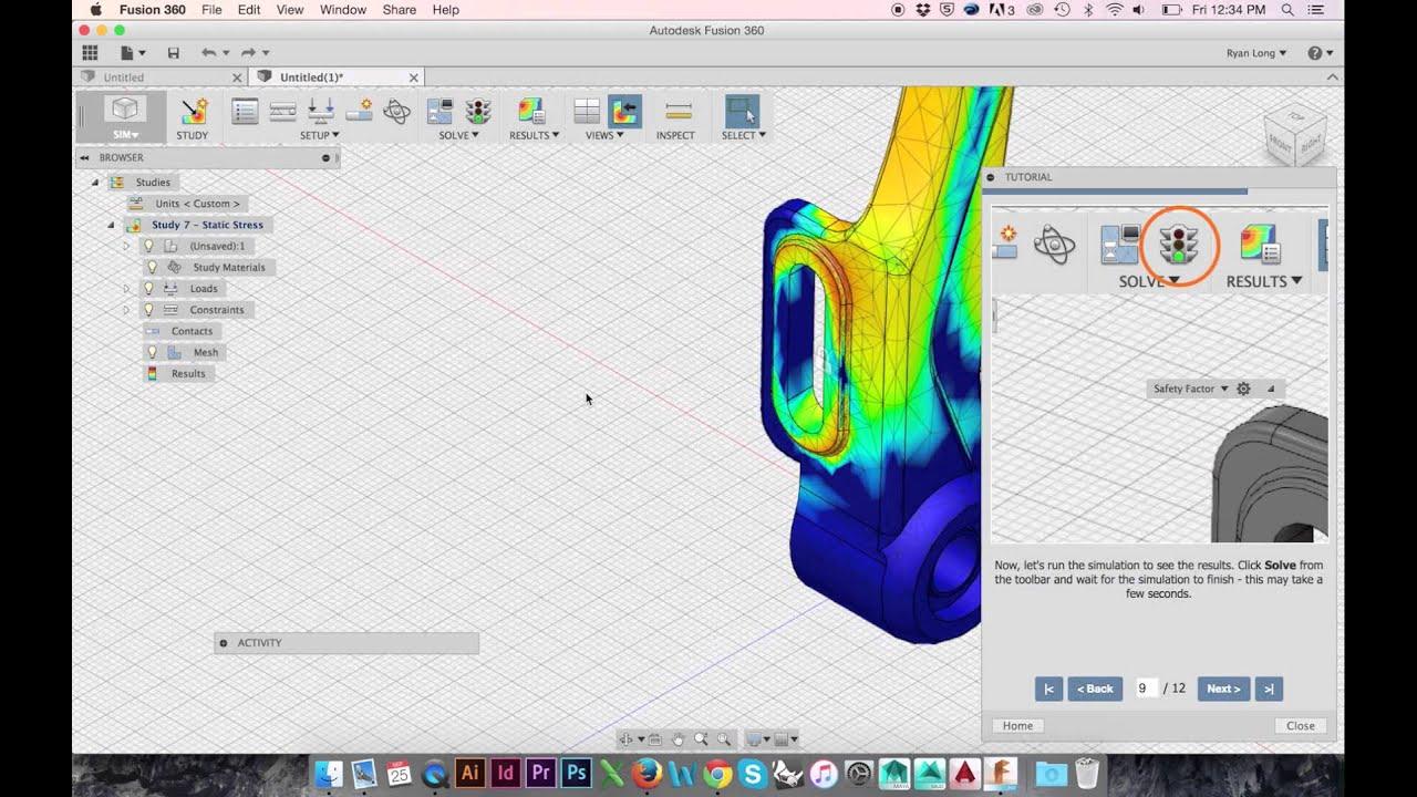 fusion 360 simulation constraints manual