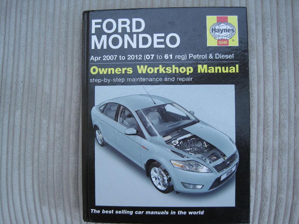 ford focus 2007 maintenance manual