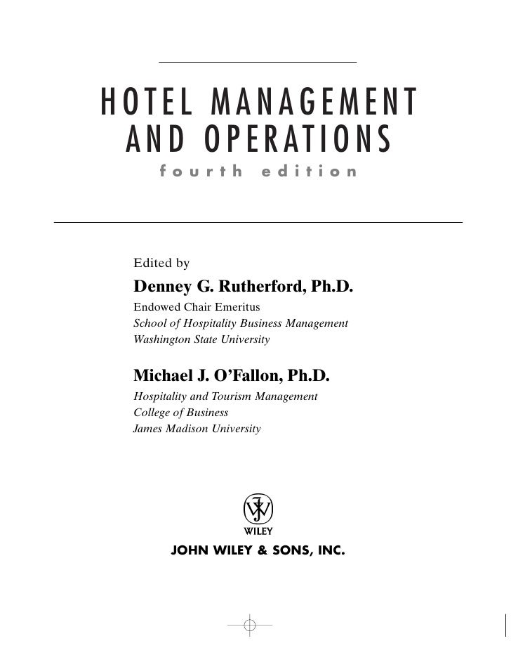 travel tourism and hospitality management study manual