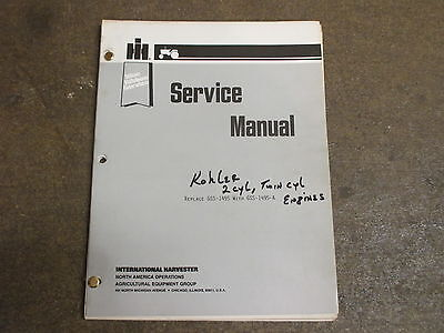 international cub cadet 100 manual