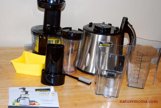bella nutripro cold press juicer manual