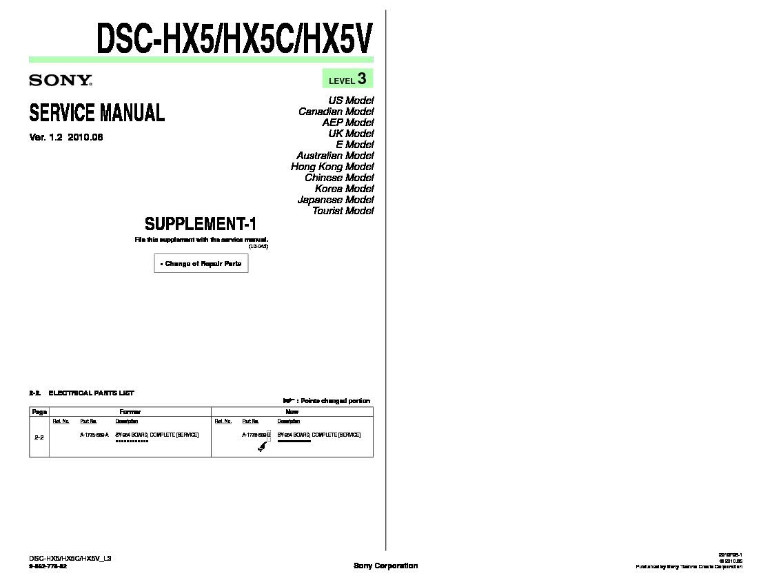 sony dsc hx 80 manual