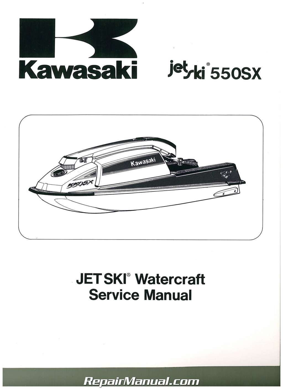 1990 kawasaki 650 jet ski manual