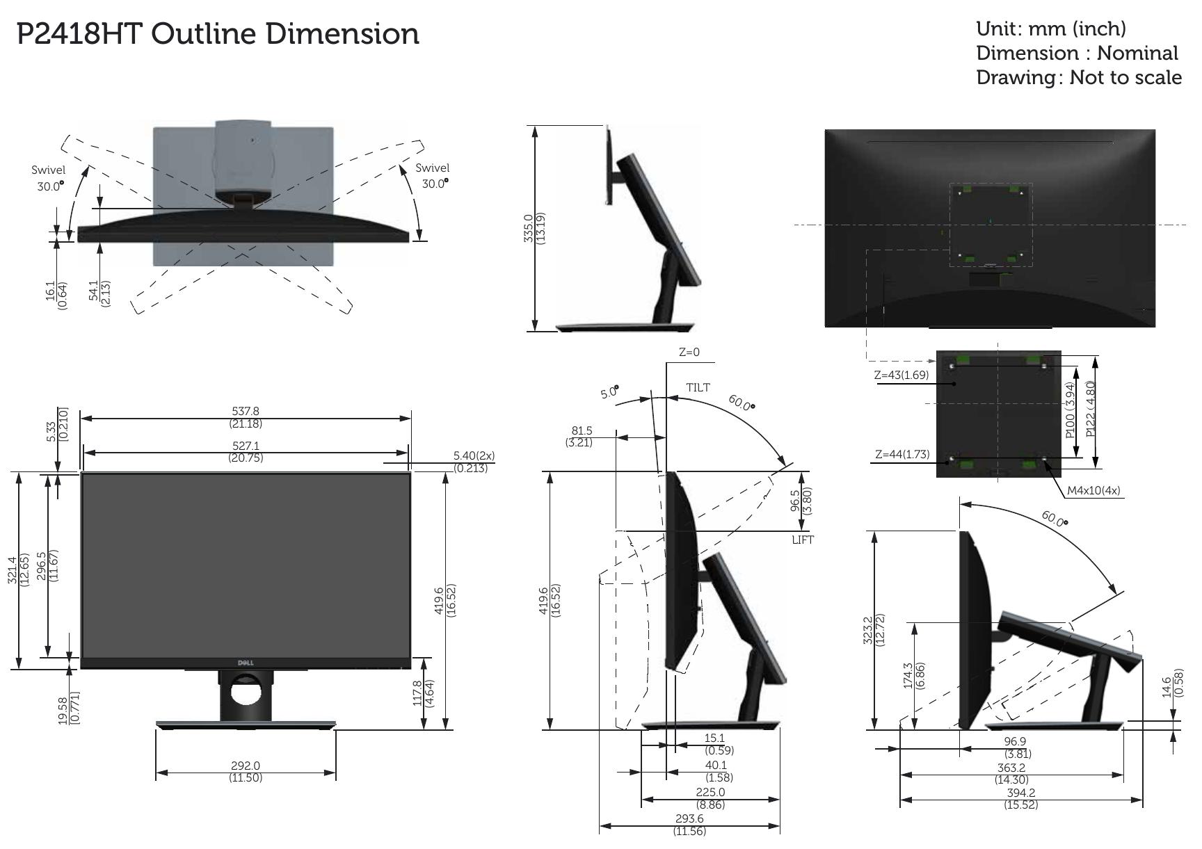 dell e228wfp monitor user manual