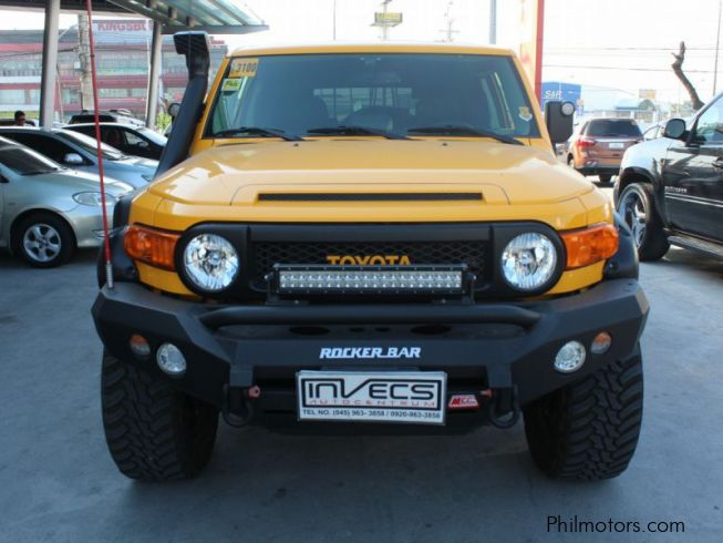 manual fj cruiser gas mileage