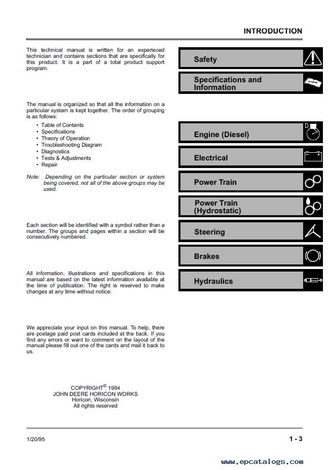 john deere 3375 technical manual