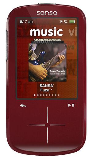 sandisk sansa fuze+ 16gb mp3 player manual