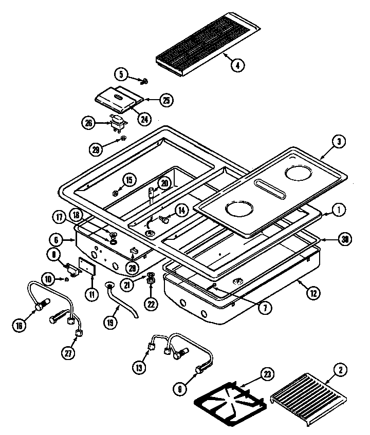 jenn-air model seg196 installation manual