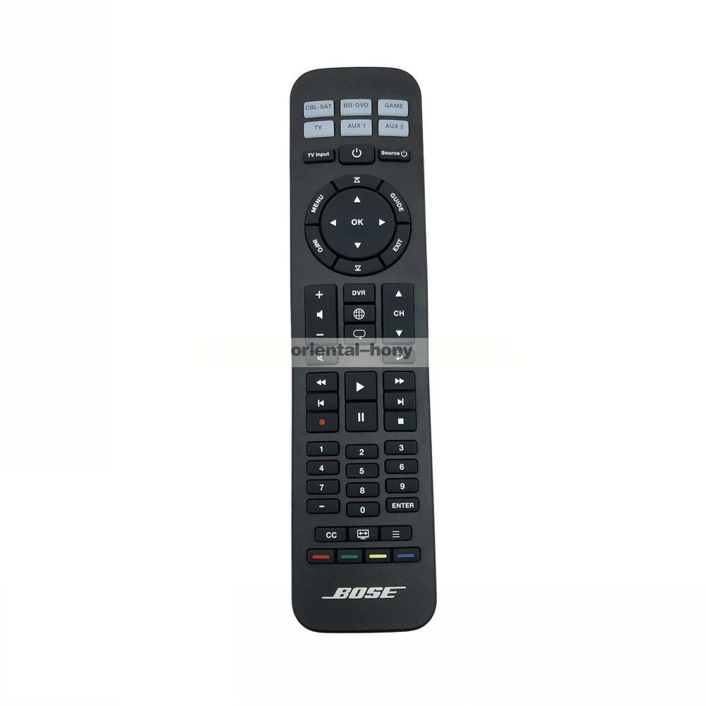 bose solo 15 universal remote manual
