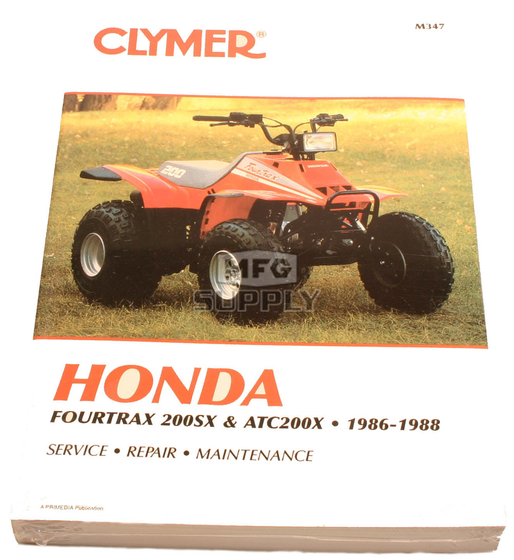 honda atc200x service manual download