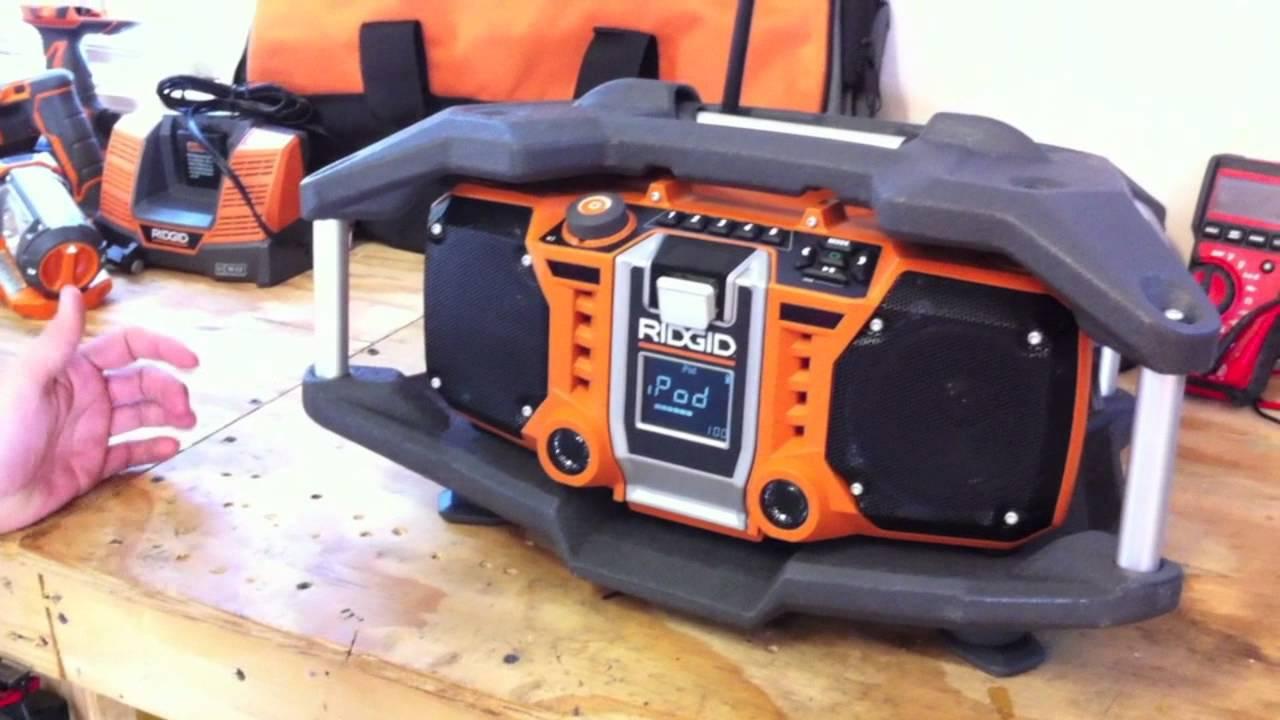 ridgid jobsite radio r84083 manual