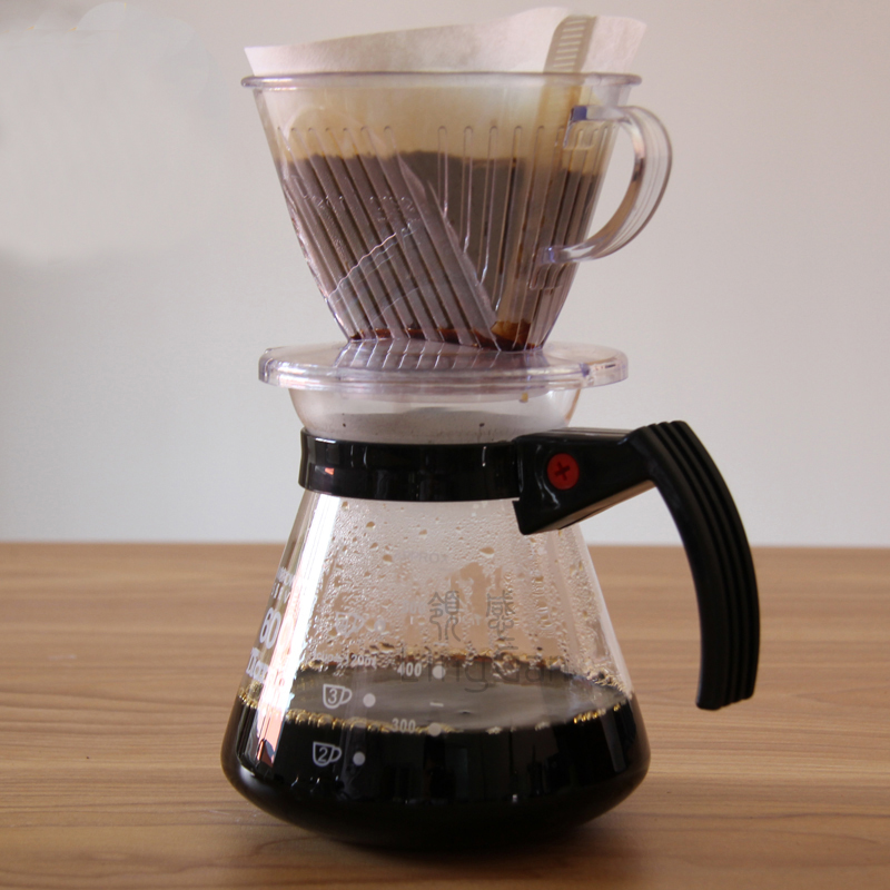 manual drip filter coffee maker