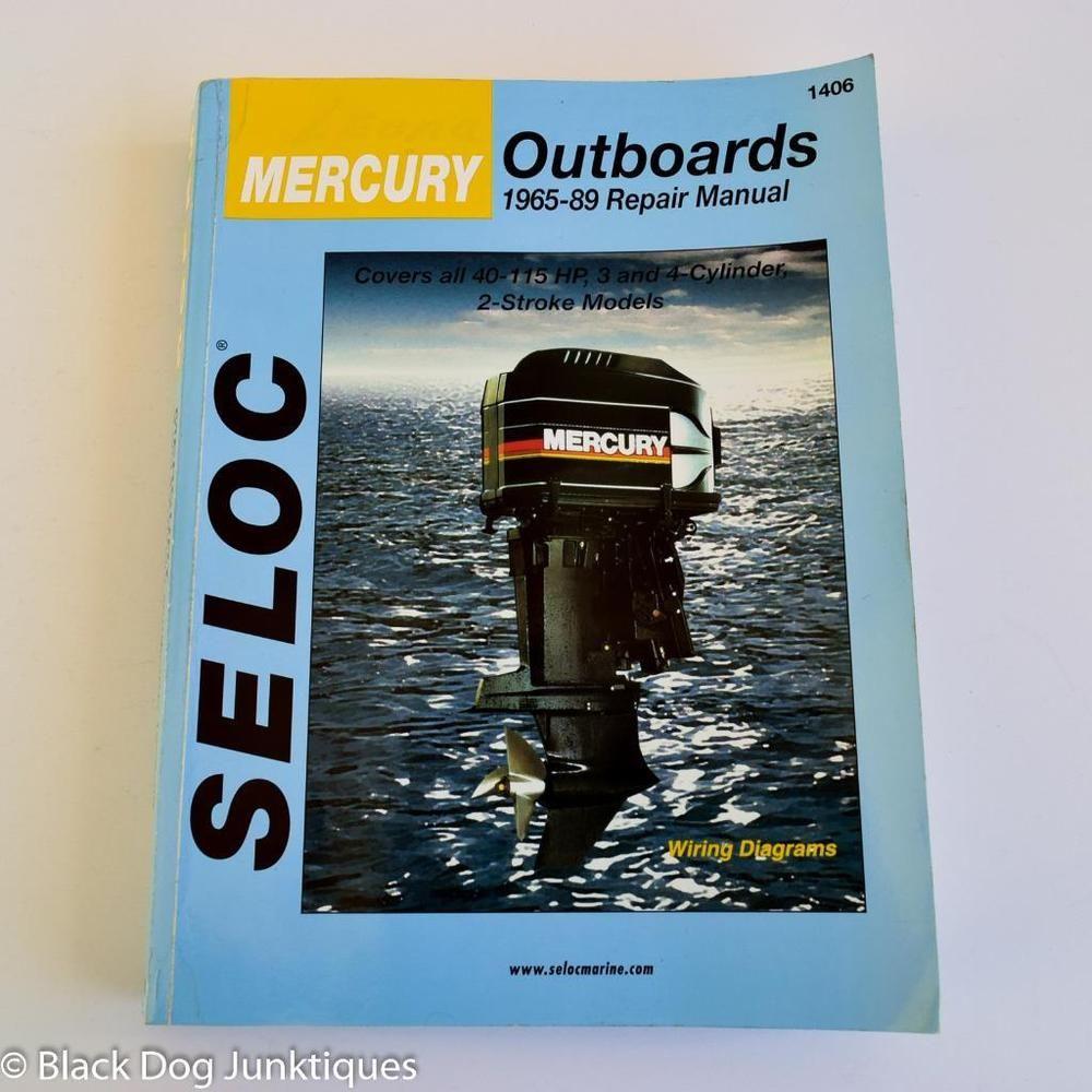 mercury 115hp 4 stroke maintenance manual