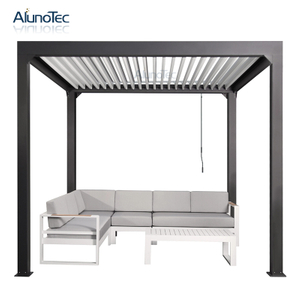 manual pulley style patio awning
