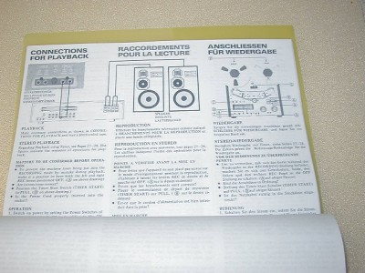 akai amplifier owners operators manual