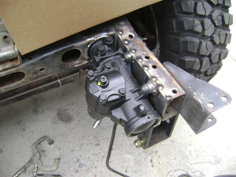 upgraded manual steering box for 54 ford car