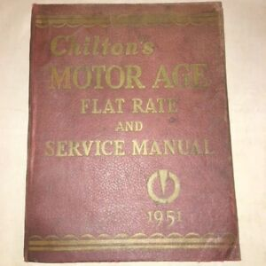 chilton flat rate manual online