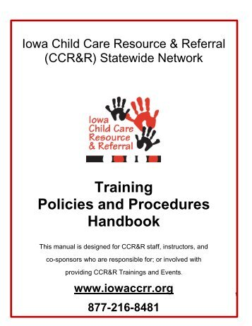 nl child care policy and procedures manual