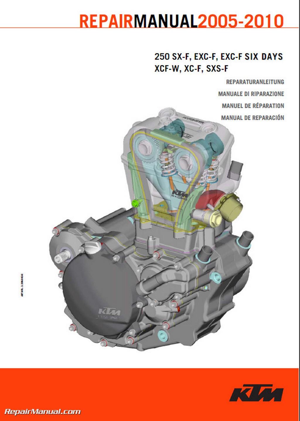 1997 ktm 250 exc service manual