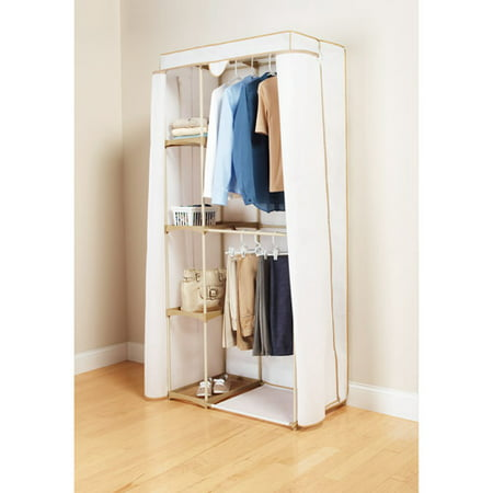 mainstays double hanging closet organizer manual
