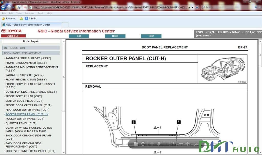 2007 corolla repair manual pdf