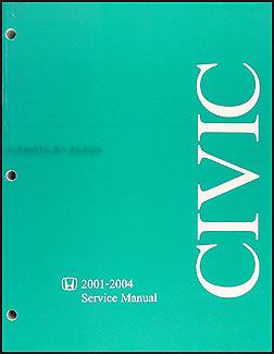 2004 honda civic ex shop manual