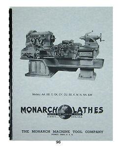 monarch machinery service manual pdf