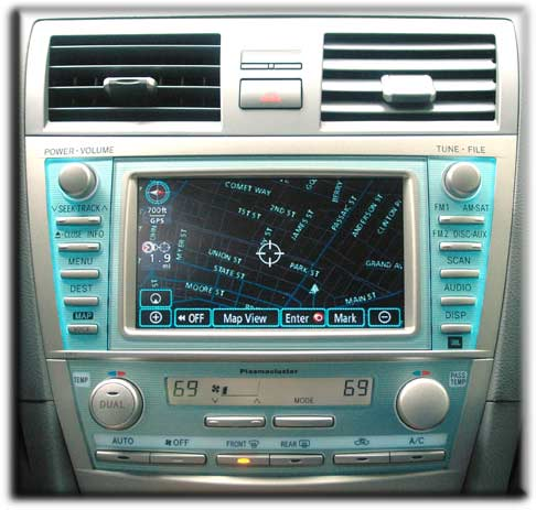 2007 toyota camry navigation system manual
