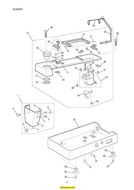 janome memory craft 6500p manual