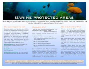marine protected areas ecopath manual