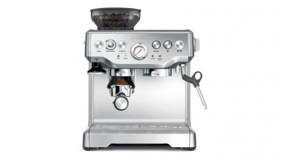 breville coffee machine bes820 manual