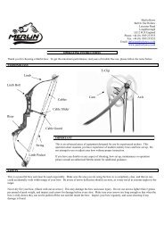 pse bow madness xl owners manual