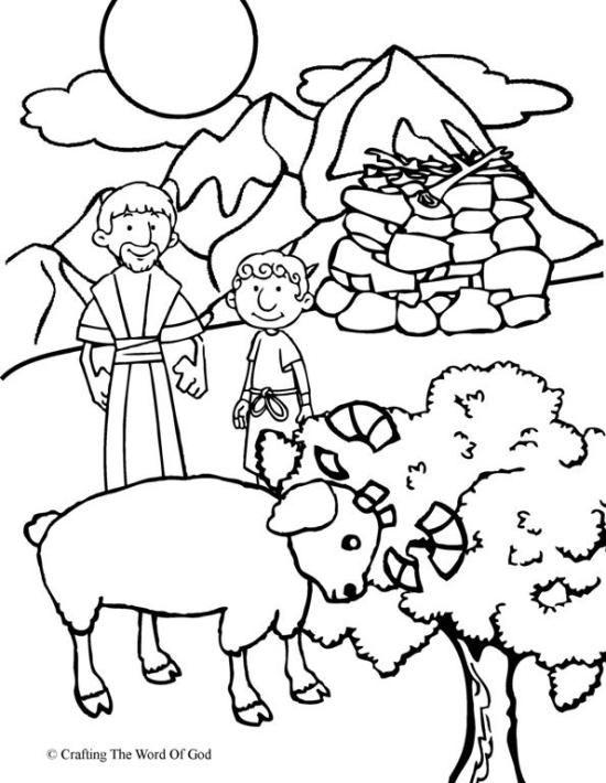 trabajos manuales para abraham e isaac
