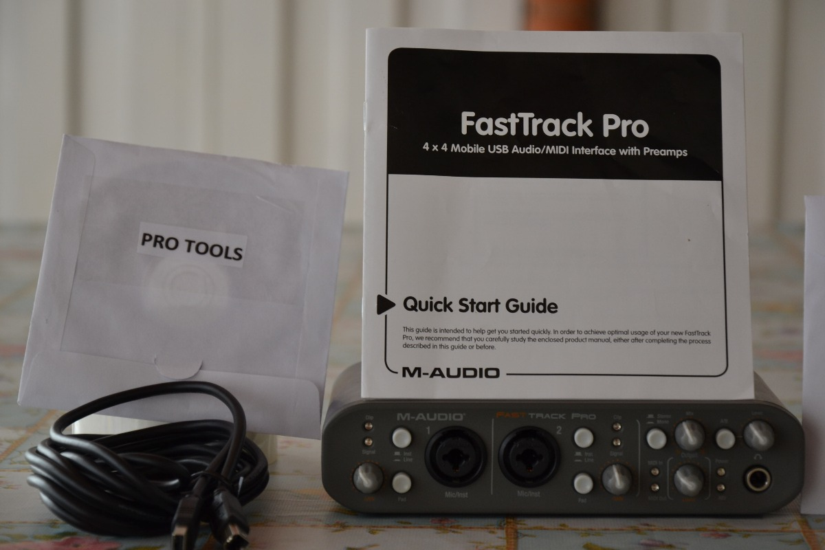 fast track pro driver manual install