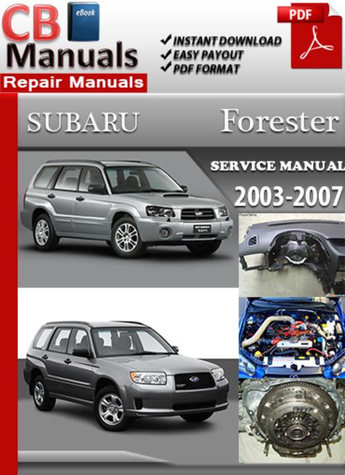 repair manuals 2014 subaru forester
