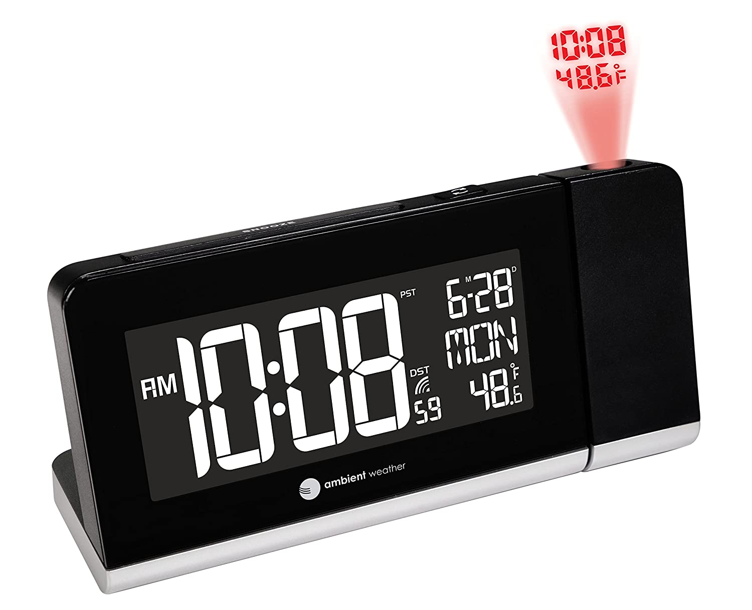 user manual projection alarm clock