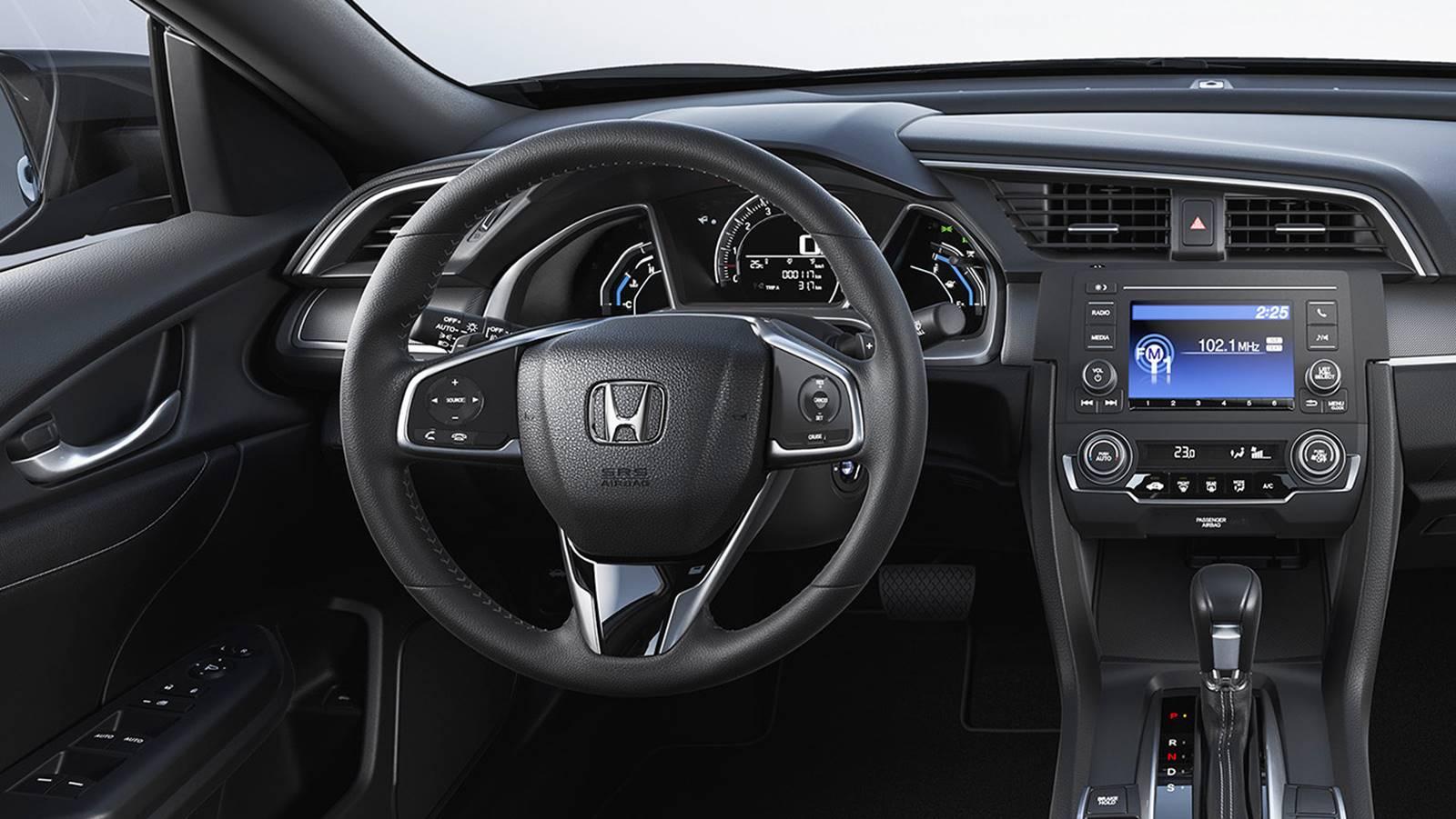 2017 honda civic ex sedan manual